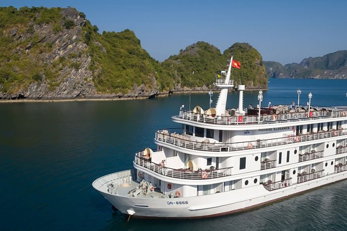 Du thuyền Paradise Elegance – 5 sao